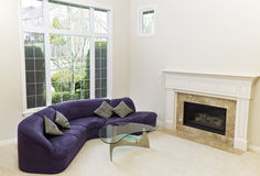 Cozy Living Room Stock Photography