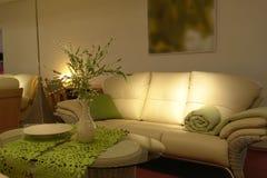 Cozy Living Room stock image