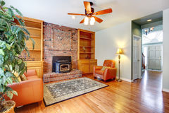 Cozy living room interior Stock Images