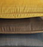 Cozy luxury cushions Royalty Free Stock Photo