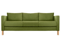 Cozy modern Sofa Stock Photo