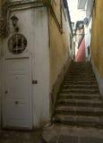 Cozy narrow italian street. In Positano Stock Image