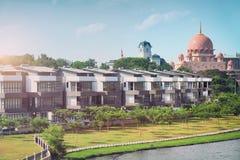 Cozy Neighborhood in Putrajaya - Kuala Lumpur, Malaysia Royalty Free Stock Images