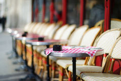 Cozy outdoor cafe Stock Photography