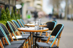 Cozy outdoor cafe Royalty Free Stock Photography