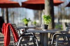 Cozy outdoor cafe Royalty Free Stock Photos
