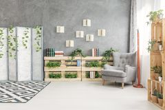Cozy reading spot Stock Images