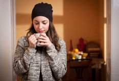 Cozy and relaxed. Stock Photos