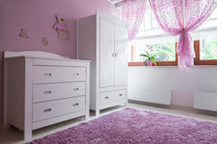 Cozy room for girl Royalty Free Stock Photo