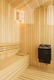 Cozy sauna Stock Photos