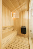 Cozy sauna Royalty Free Stock Photos
