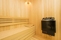 Cozy sauna Royalty Free Stock Images