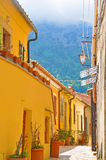 Cozy streets of the island of Elba Royalty Free Stock Photos