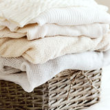 Cozy sweaters Stock Images