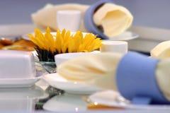 Cozy table lay Stock Photo