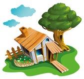 Cozy village house Stock Photos