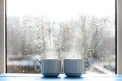 Cozy warming morning Stock Image