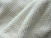 Cozy White Blanket Stock Image