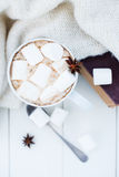 Cozy winter home background Royalty Free Stock Photography