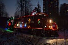 CP-Feiertags-Zug Stockfoto