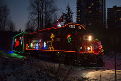 CP Holiday Train Stock Photo