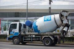 CPAC混凝土制品公司具体卡车  免版税库存照片