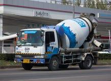 CPAC混凝土制品公司具体卡车  库存照片
