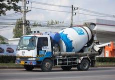 CPAC混凝土制品公司具体卡车  库存图片