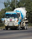 CPAC混凝土制品公司具体卡车  免版税图库摄影