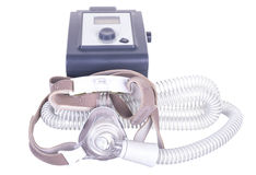 CPAP机器 图库摄影