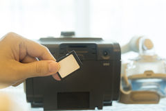 CPAP机器 库存照片
