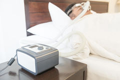 CPAP machine Stock Image