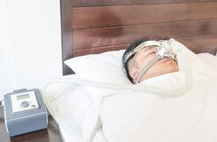 CPAP machine Stock Photos