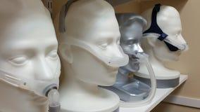 CPAP-maskeringar Fotografering för Bildbyråer
