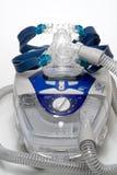 CPAP-maskin Arkivbild