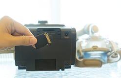 CPAP-maskin Arkivfoto