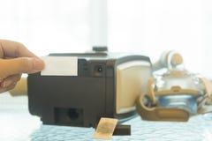 CPAP maszyna Zdjęcia Stock