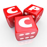 CPC Cost Per Click Online Web Advertising Targeted Marketing Stock Photo