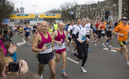 CPC Half Marathon in The Hague Royalty Free Stock Image