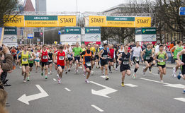CPC Half Marathon in The Hague Royalty Free Stock Photo