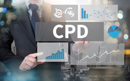 CPD  Continuing Professional Development Royalty Free Stock Photo