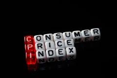 CPI零售价指数 库存照片
