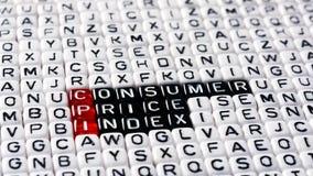 CPI零售价指数 免版税图库摄影