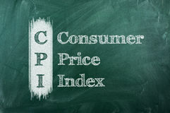 CPI Royalty Free Stock Image
