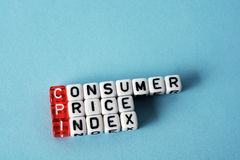 CPI Consumer Price Index Royalty Free Stock Photos