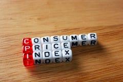 CPI Consumer Price Index Stock Photo