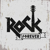 Cópia da música rock Fotos de Stock Royalty Free