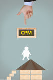 CPM Royalty Free Stock Image