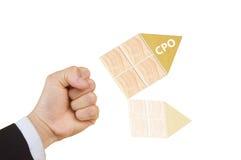 CPO Imagem de Stock