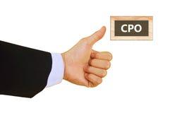 CPO Stock Afbeelding